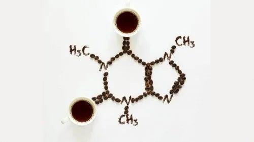 Structura chimică a cafelei