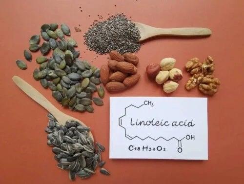 Alimente cu acid linoleric