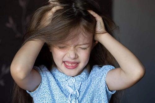 Alopecia la copii mici