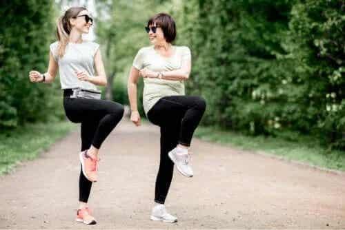 Exerciții pentru bursita șoldului