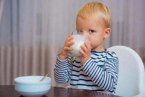 Ce lapte pot bea copiii după 1 an?