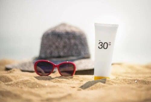 Protecție solară la plajă