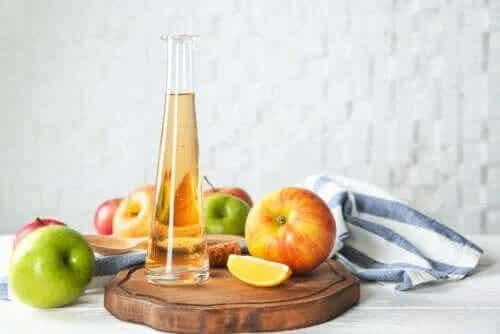 Utilizarea excesivă a oțetului de mere