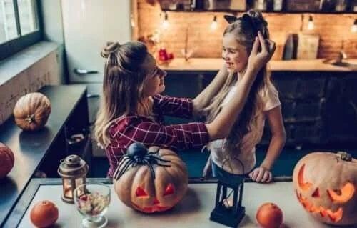 Activități de Halloween cu copilul