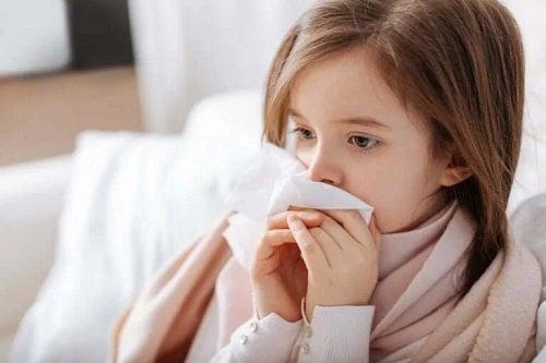 Alergii la copii care provoacă rinoree