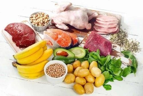 Alimente bogate în vitamina B