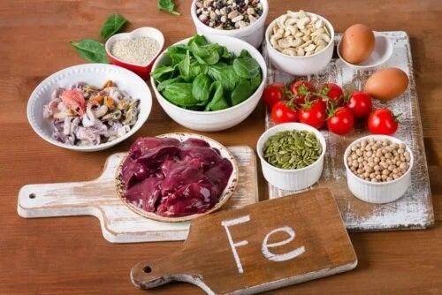 Alimente care conțin cantități mari de fier