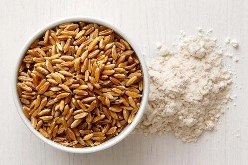Beneficiile grâului kamut sub formă de făină