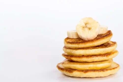 Clătite franțuzești cu banane