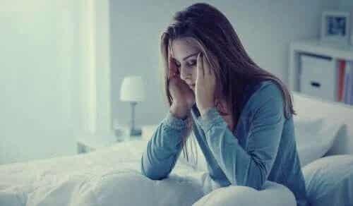 Anxietatea în timpul nopții: simptome și tratament