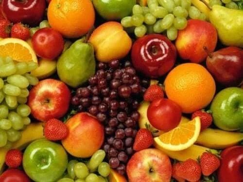 Fructe bogate în carbohidrați