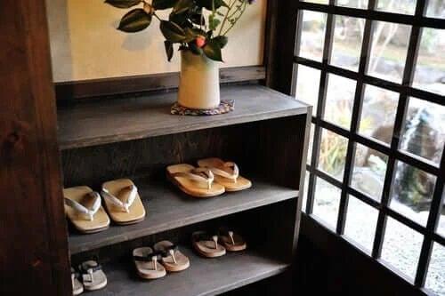 Pantofar așezat pe hol