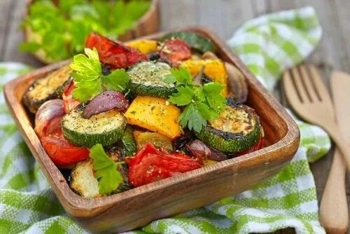 Preparat vegetarian și flexitarian din legume