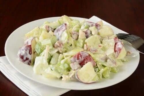 Rețetă de salată Waldorf adaptată