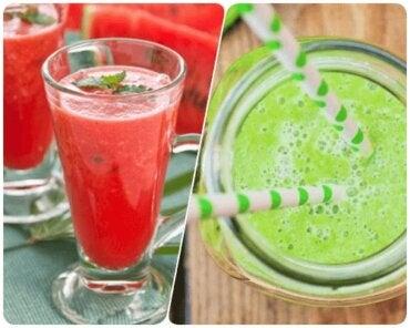 7 băuturi răcoritoare cu fructe: rețete sănătoase
