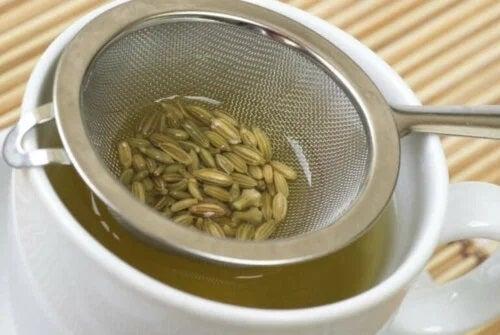 Beneficiile semințelor de fenicul sub formă de ceai