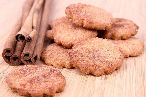 Biscuiți cu scorțișoară delicioși
