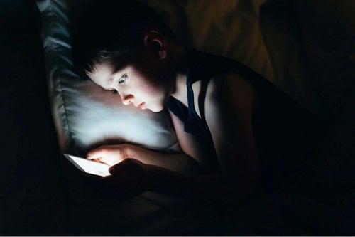 Cearcănele la copii care nu dorm noaptea