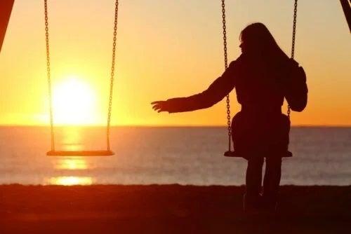 Persoană care are frica de a fi singur