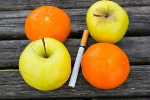 Fructe pentru a renunța la fumat