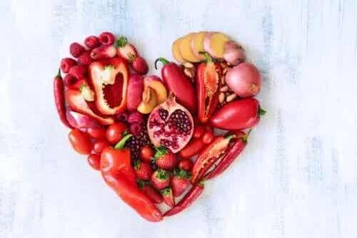 Fructele și legumele roșii: valoarea nutritivă