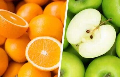 Portocale și mere