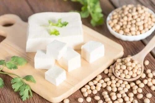 Proteina de soia din tofu