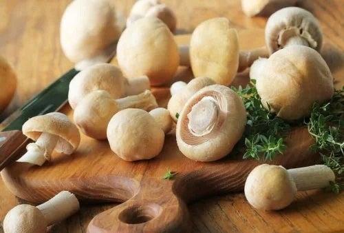 Rețete cu ciuperci pentru dietă