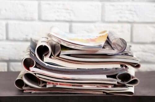 Revistele sunt obiecte reutilizabile