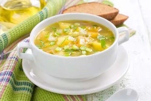 Supe de legume delicioase