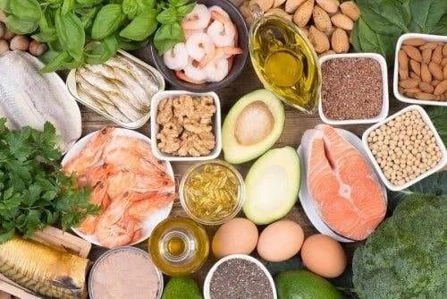 Alimente care conțin acizii grași Omega 3, 6 și 9
