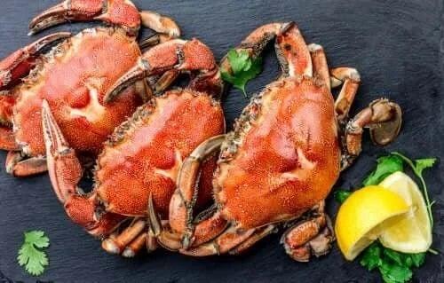 Crabi fierți