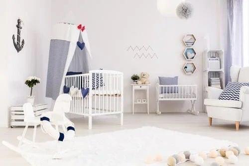 Cum pregătești nașterea copilului decorând camera
