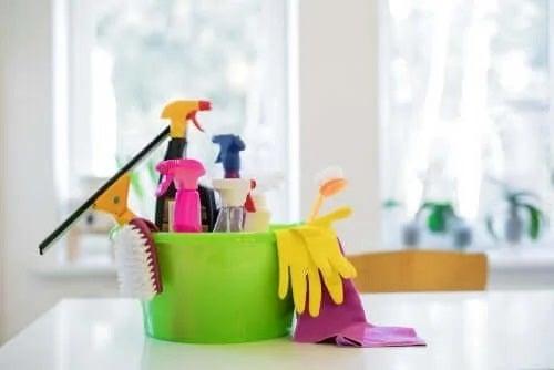 Produse de curățare periculoase pentru sănătate