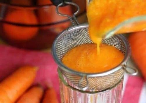 Sirop de morcovi pentru gripă