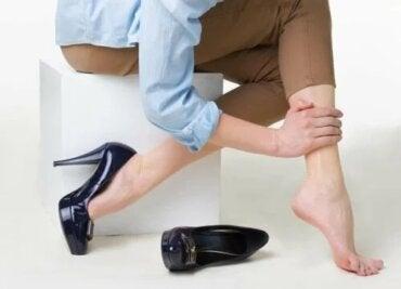 venele de sandal și varicoase)