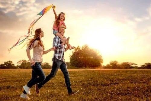 Familie care știe cum îi înveți pe copii să aibă speranță