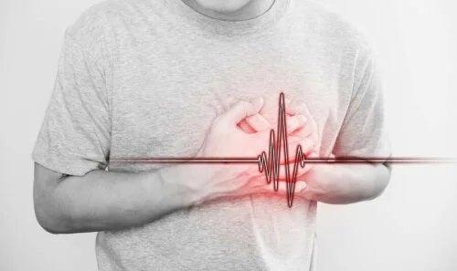 Pacient care suferă de disecția coronariană spontană