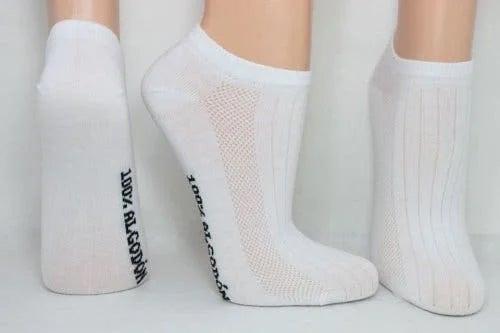 Șosete albe
