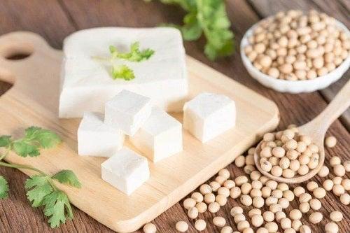 Cuburi de tofu