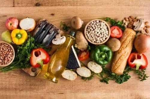 Alimentele din dieta mediteraneană