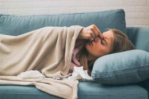 4 remedii pentru durerea de cap din sinuzită