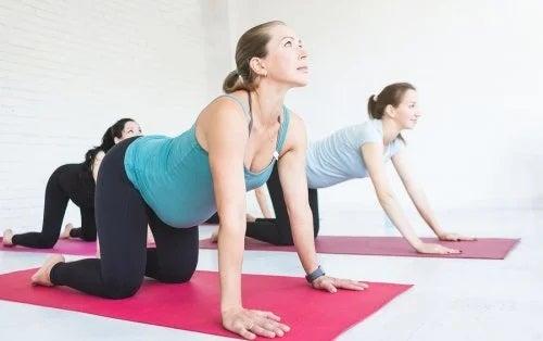 Exerciții pentru femeile însărcinate
