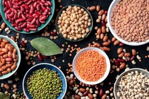 Diverse tipuri de leguminoase