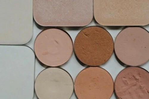 Machiajul de corectare a culorii pielii