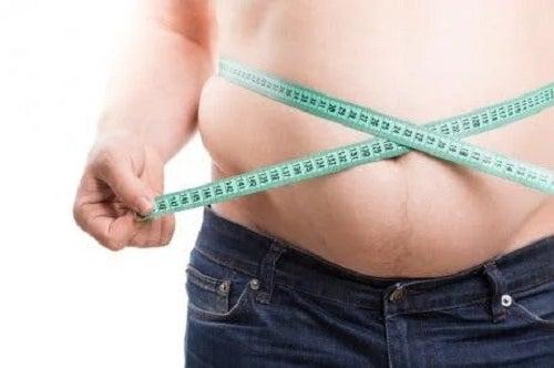 Persoană care suferă de obezitate
