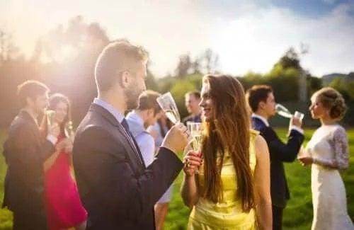 Persoane la nuntă