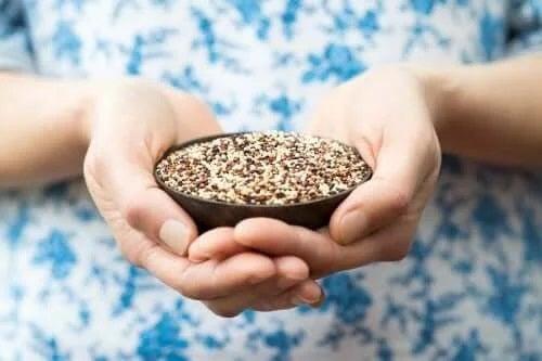 Boabe de quinoa