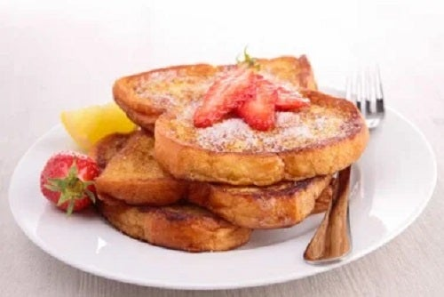 Rețetă de french toast fără zahăr din pâine integrală