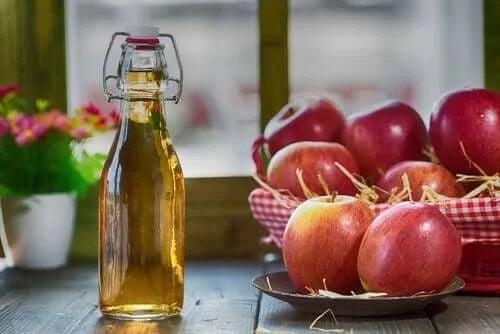 Oțet de mere pentru arsurile la stomac